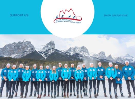 skiing fundraising - Alpine Insurance Alberta World Cup Academy