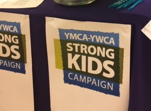 non-profit & community causes fundraising - YMCA-YWCA Strong Kids Fundraiser