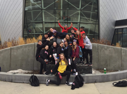 college & universities fundraising - Guelph-Humber Kin Games