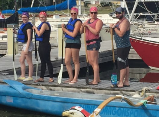 paddling fundraising - BOCC - Belleville Outrigger Canoe Club