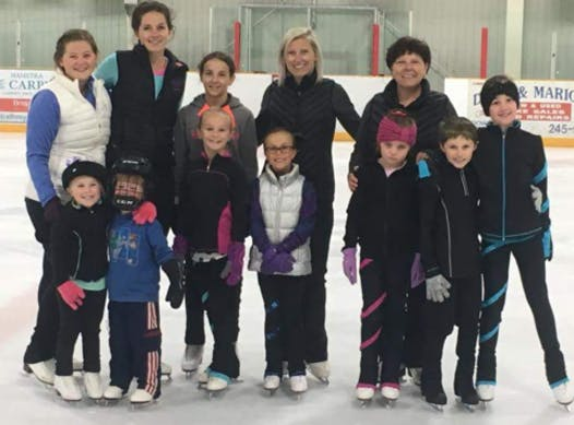 figure skating fundraising - Strathroy Skating Club 2020