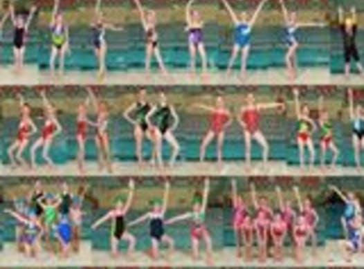 synchronized swimming fundraising - OSSC Team 2018/19