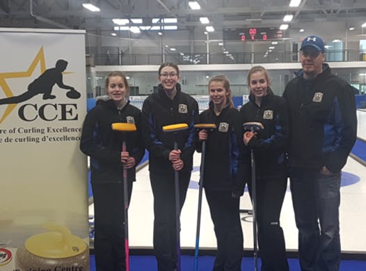 curling fundraising - Team Tracy