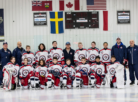 ice hockey fundraising - Mississauga Jets Peewee AA