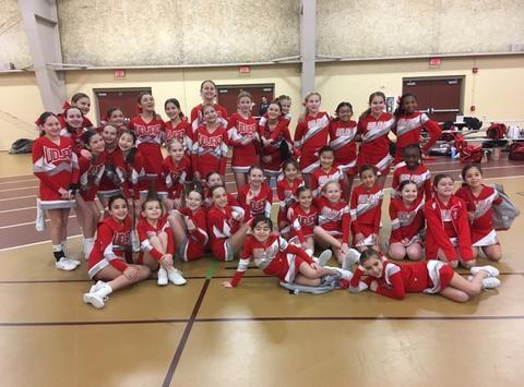 UDJAA Competition Cheerleading