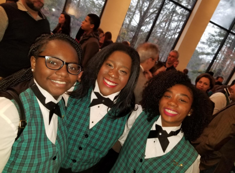 choir fundraising - Elizabeth Comer in Spivey Hall Children's Tour Choir