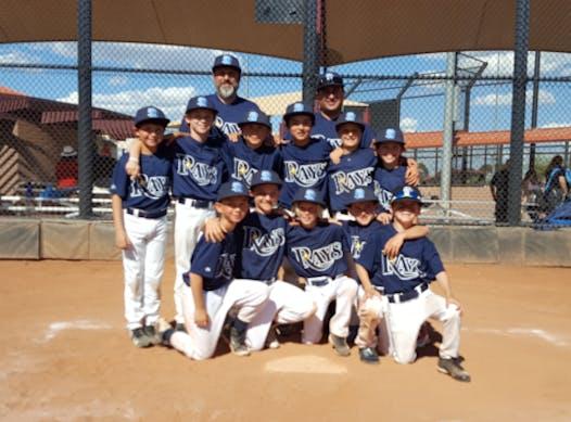 baseball fundraising - Santa Barbara Rays