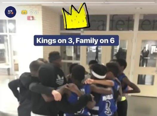 basketball fundraising - Northern Kings 2007 Boys - East