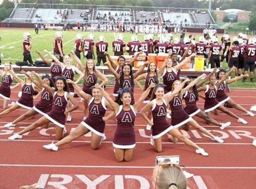 sports teams, athletes & associations fundraising - Abington Varsity Cheerleading
