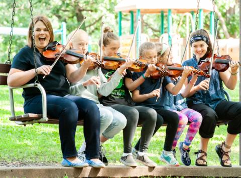 music fundraising - Center for Irish Music