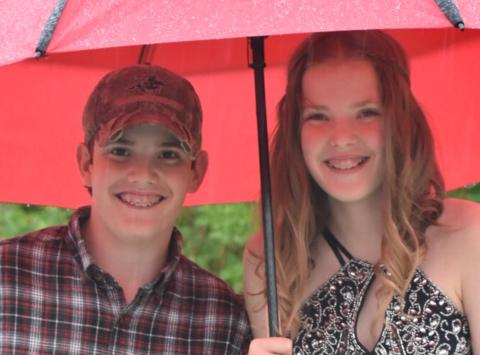 high school fundraising - Ella & Gavin Taylor