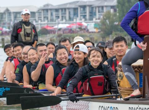 dragon boat fundraising - Max Storm