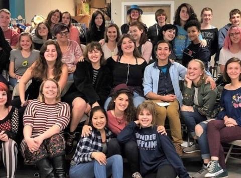 theater fundraising - Inspire goes to Edinburgh
