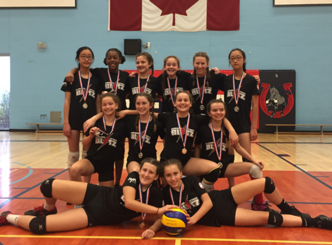 volleyball fundraising - Durham Attack BLITZ