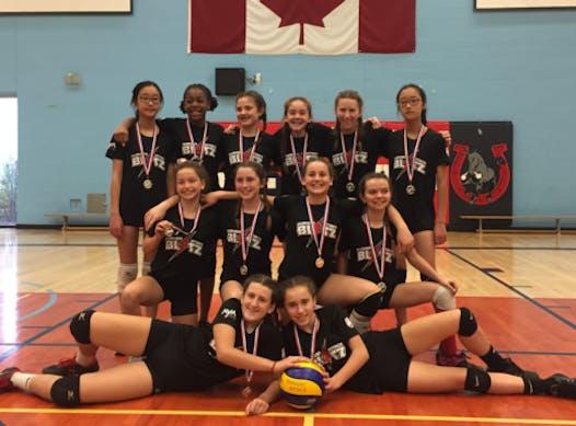 volleyball fundraising - Durham Attack BLITZ