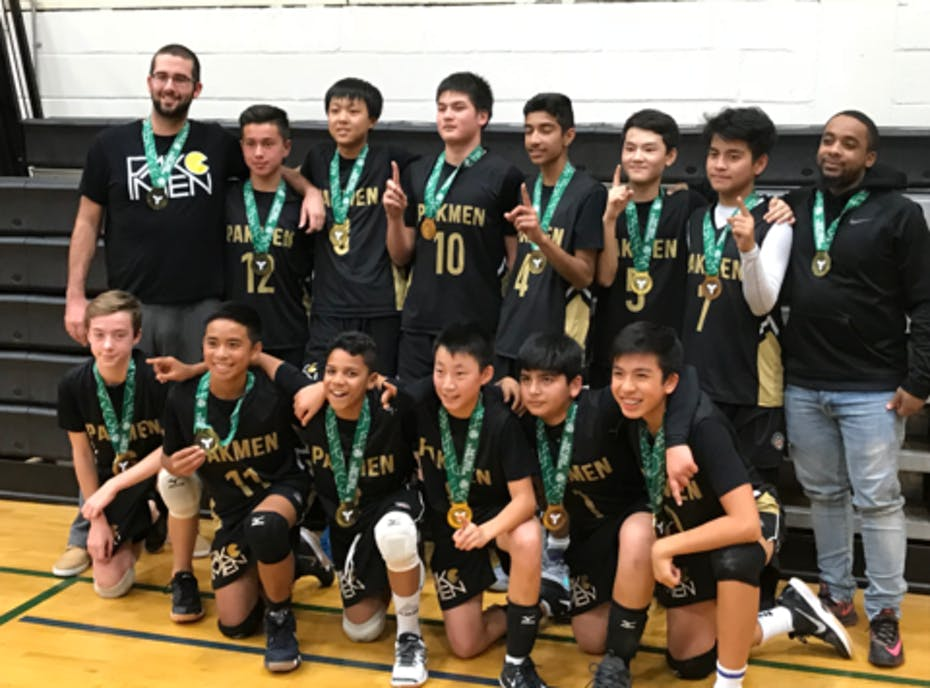 Pakmen Gold 14U Boys Volleyball