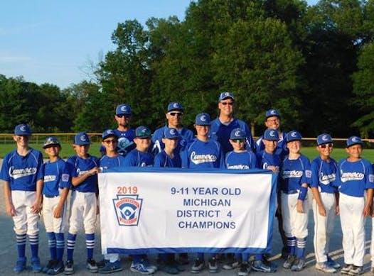 baseball fundraising - Commerce Cobras 12U Blue (2020)