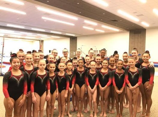 gymnastics fundraising - Fox Valley Gymnastics