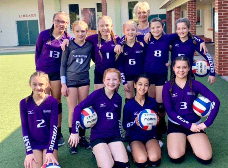 12 Premier Black South Volleyball
