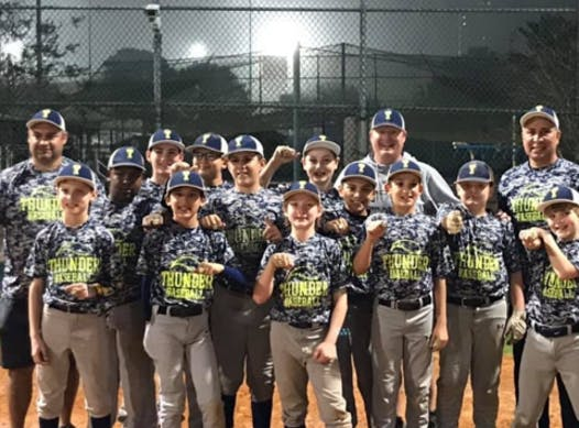 sports teams, athletes & associations fundraising - Timbergrove 11U Thunder Baseball