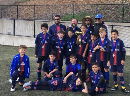 soccer fundraising - Silicon Valley Eagles (South Bay)