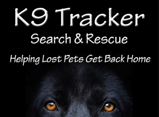 animals & pets fundraising - K9 Tracker S&R