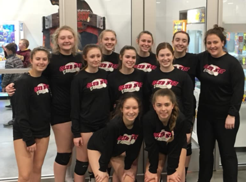 volleyball fundraising - Club Net 15 Nationals Black
