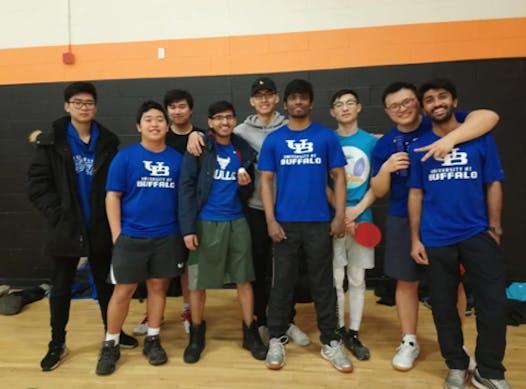 school sports fundraising - University at Buffalo Table Tennis Club