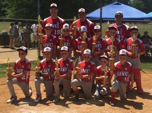 baseball fundraising - HRYB 9U Herndon Hawks