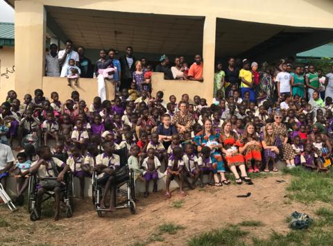 volunteering trip fundraising - Partners-In-Joy