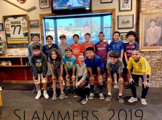 soccer fundraising - Slammers SB B07