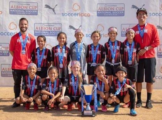 soccer fundraising - HSA 2010 Girls