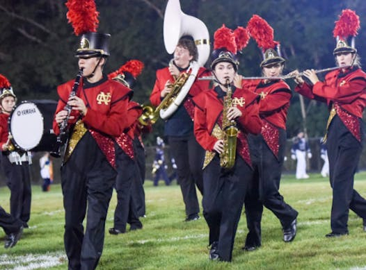music fundraising - NCHS Marching Band
