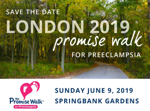 non-profit & community causes fundraising - London Promise Walk for Preeclampsia