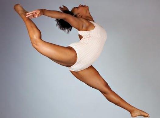 dance fundraising - Mya