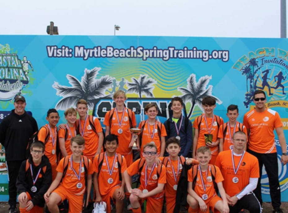 2005B YCVSC Eagles Orange