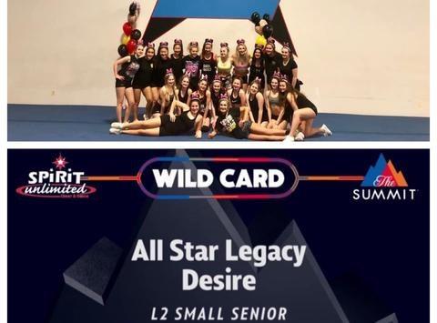 cheerleading fundraising - All Star Legacy - S3 Desire