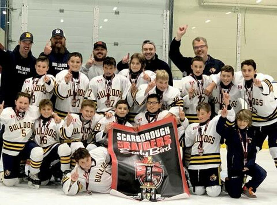 Bradford Bulldogs Minor Peewee A