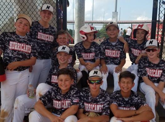 baseball fundraising - Mineola Hurricanes-Valente