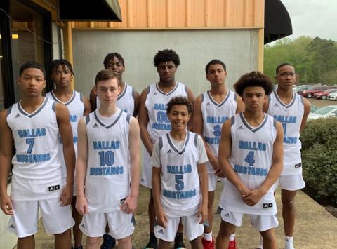 basketball fundraising - Dallas Mustangs Elite