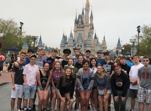 high school fundraising - Henryville High School - Disney Youth Education Series