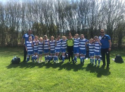 soccer fundraising - SQ U12 Girls