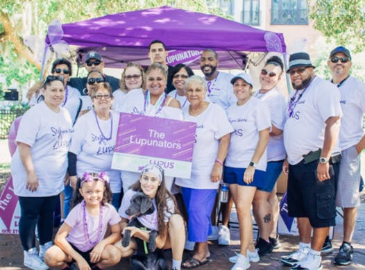 charity event - run, walk, or bike fundraising - The Lupunators