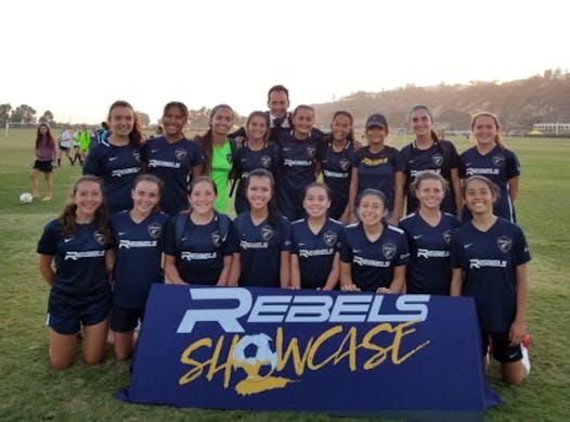 soccer fundraising - Rebels SC 03 Academy