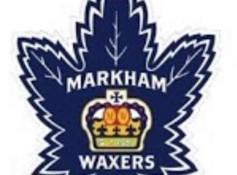 ice hockey fundraising - Markham Waxers Minor PeeWee AAA