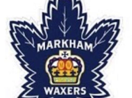 ice hockey fundraising - Markham Waxers Minor PeeWee AAA