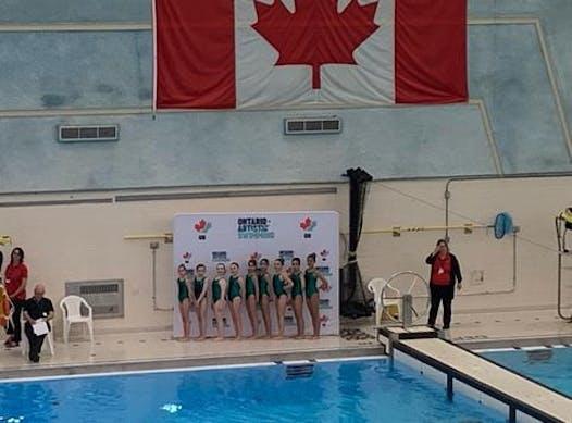 synchronized swimming fundraising - 12u DIANA