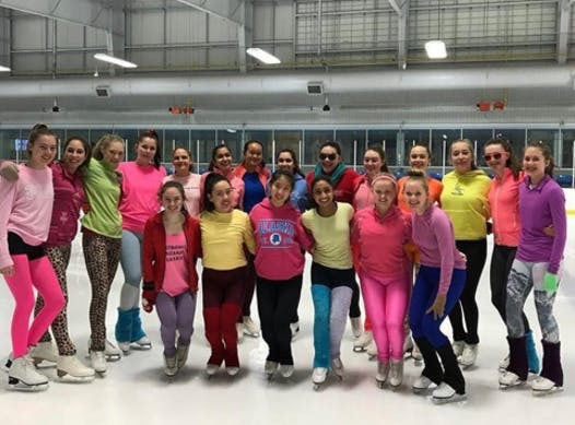 figure skating fundraising - MERAKI Intermediate
