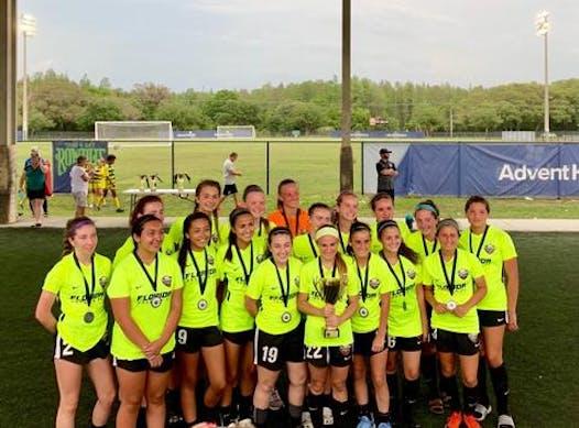 soccer fundraising - Florida Premier FC '03 Girls Elite 2