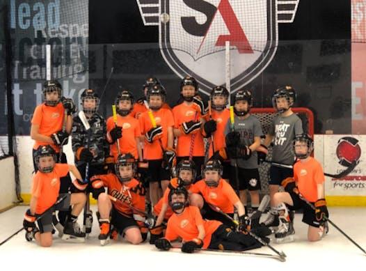 ice hockey fundraising - 2010 EMC AAA
